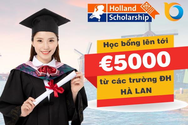 Học bổng Holland Scholarship