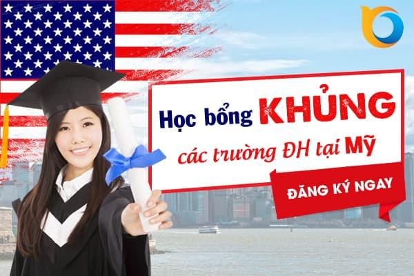 Học bổng từ các trường Đại học tại Mỹ