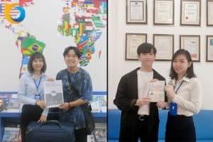 Chúc mừng VISA du học thông minh Singapore