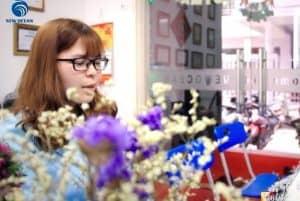 Bạn Đào Ngọc Trâm du học Hà Lan trường Rotterdam UAS