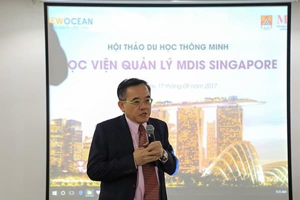Dr. Eric Kuan- Hiệu trưởng trường MDIS Singapore