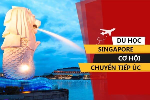 Du học Singapore chuyển tiếp Úc