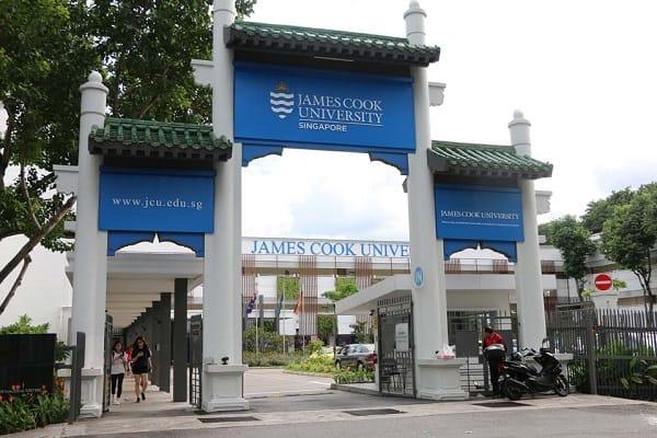 Cổng trường James Cook University