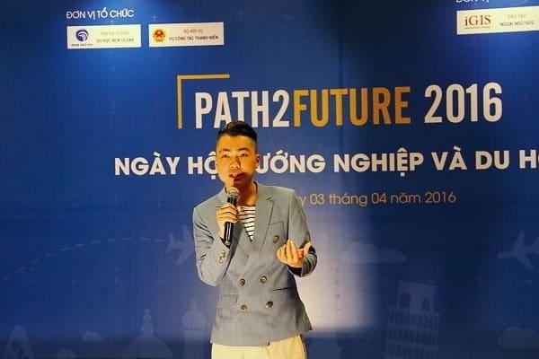 Jason Việt Tiến chia sẻ thành công của mình tại Ngày hội