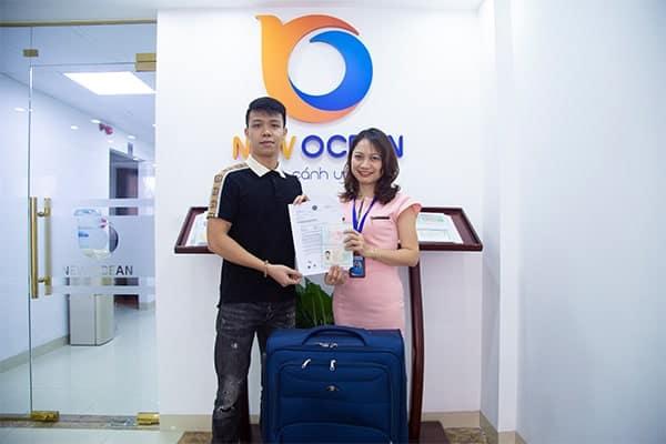 Chúc mừng Visa du học Singapore trao tay bạn Lê Bảo Khánh