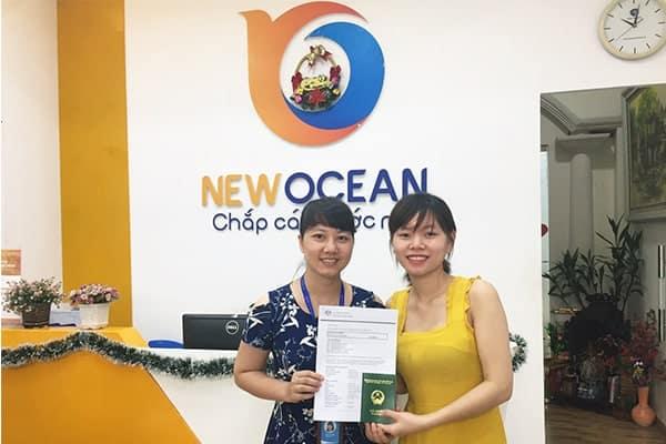 Bạn Lê Thị Hải nhận Visa du học Úc