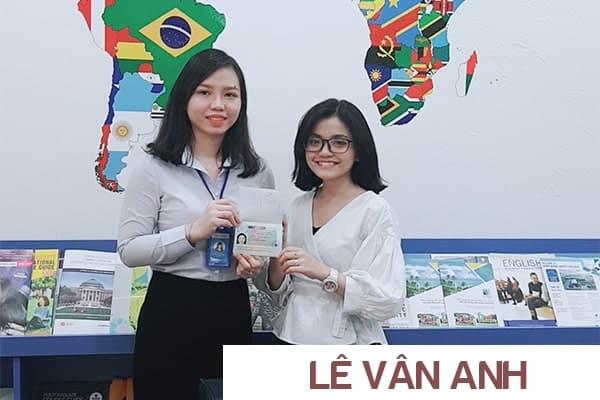 Bạn Lê Vân Anh nhận Visa du học Ba Lan từ New Ocean trụ sở TP. HCM