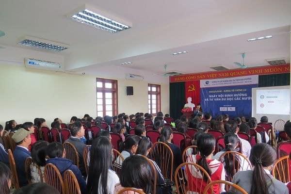 Ngày hội định hướng và tư vấn du học các nước tại Hải Dương