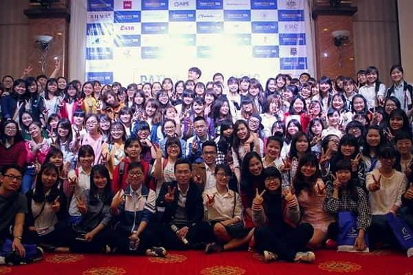 Ngày hội quy tụ rất nhiêu bạn học sinh tham dự