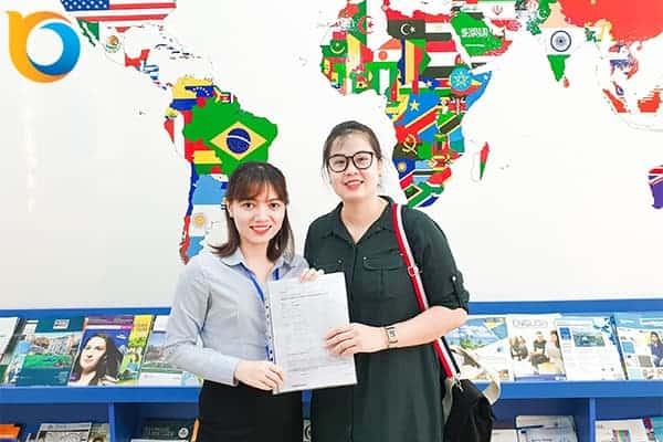 Chúc mừng Visa du học Thụy Sĩ Nguyễn Ngọc Phương Uyên ngành quản trị du lịch khách sạn