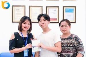Chúc mừng bạn Nguyễn Gia Phú đã nhận được Visa du học Mỹ