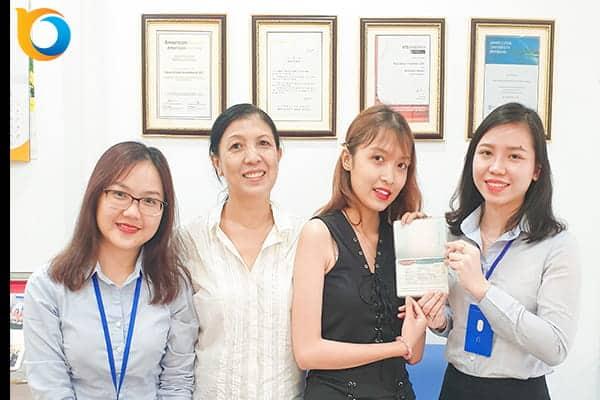 Bạn Nguyễn Trần Tùng Linh du học trường Đại học Chungwoon