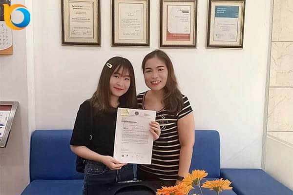 Visa du học Singapore Nguyễn Trần Họa Mi