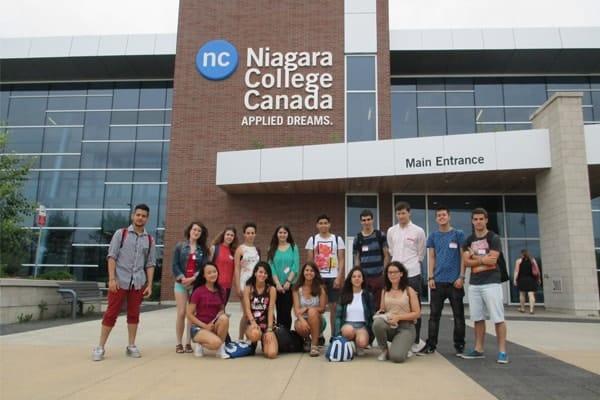 Gặp gỡ trường Niagara College