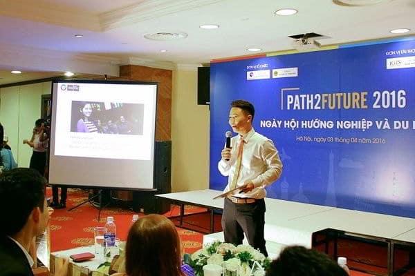 Ông Phạm Đình Bảng - Trưởng Ban đại diện giáo dục Đại sứ quán Hà Lan