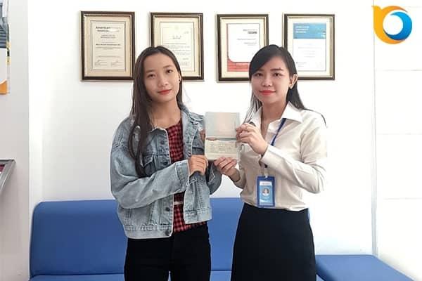 Visa du học Phạm Thị Ánh Tuyền - Hàn Quốc