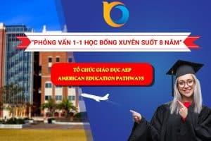 Phỏng vấn học bổng từ tổ chức giáo dục AEP
