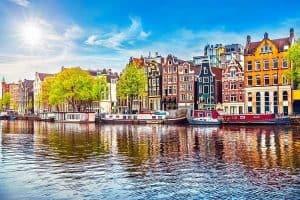 Thành phố Hà Lan Amsterdam là thủ đô của xứ sở cối xay gió