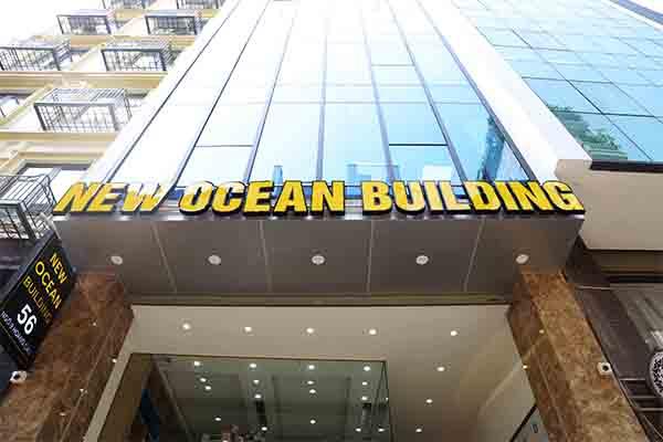 Tòa nhà New Ocean Building mới tại Hoàng Cầu