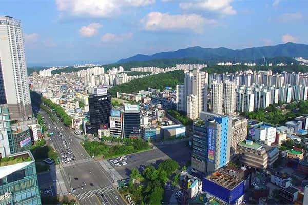Top 5 thành phố tại Hàn Quốc được du học sinh yêu thích