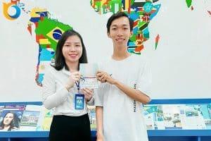 Visa du học Mỹ Trần Gia Huy