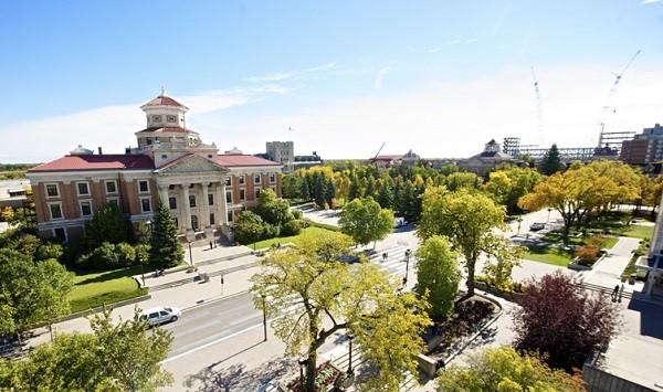 Trường đại học Manitoba nhìn từ trên cao