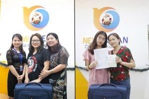 Chúc mừng Visa du học Úc Phương Anh và Thu Hiề