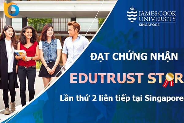 Trường James Cook Singapore vinh dự nhận được chứng nhận này