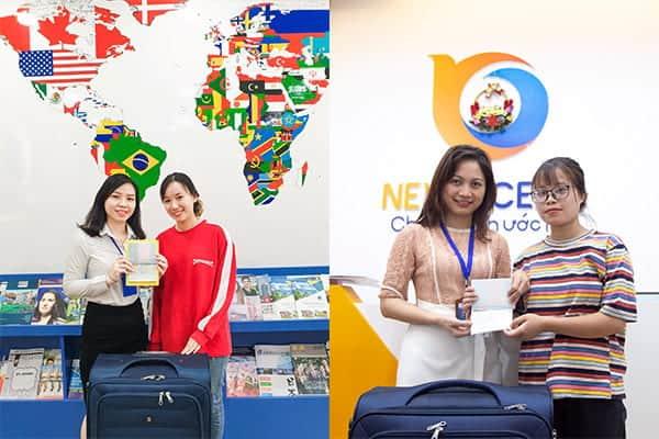 Visa du học Hàn Quốc Nguyễn Hoài Thương và Ngô Thị Hồng Thắm