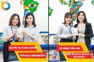 Visa du học Ba Lan Nguyễn Thị Thanh Phương và Lê Đình Tân An
