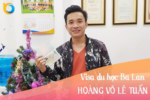 Visa du học Ba Lan Hoàng Võ Lê Tuấn