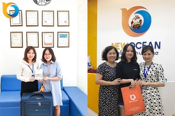 Visa du học Hà Lan Vũ Đoàn Diễm Hằng và Nguyễn Ngọc Bảo Vy