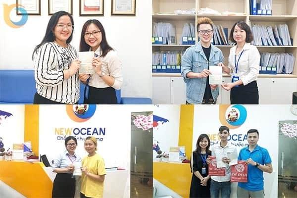 """""""Du học gần nhà"""" – Chúc mừng Visa du học châu Á từ các bạn du học sinh của New Ocean"""