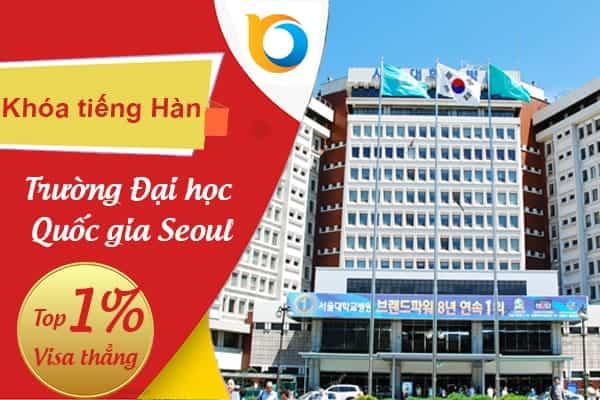 Khóa tiếng Hàn tại Đại học Quốc gia Seoul – Trường Đại học danh giá nhất Hàn Quốc