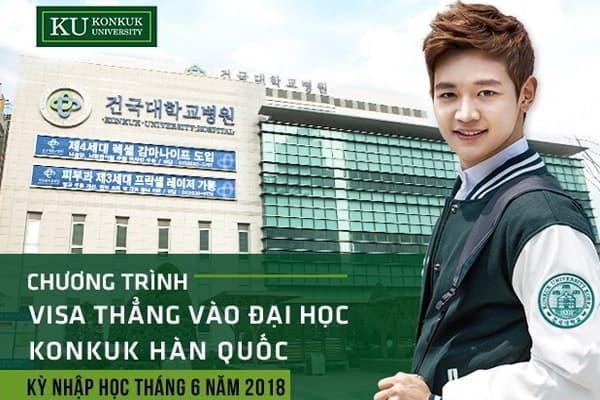 Phỏng vấn tuyển sinh trực tiếp du học Hàn Quốc trường Konkuk