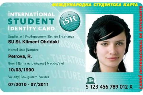 Thẻ ISIC - International Student ID Card- ISIC
