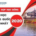 Tổng hợp học bổng du học Trung Quốc mới nhất năm 2020