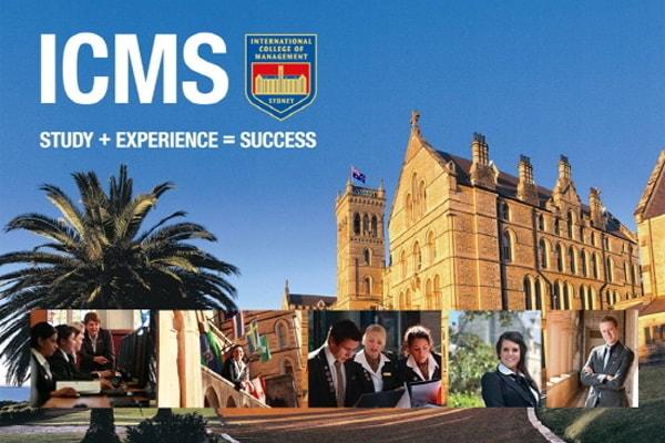 Học bổng cho mọi chương trình học từ trường ICMS, Úc năm 2021