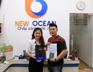 Nguyễn Trọng Hiếu nhận visa du học học viên ERC Singapore