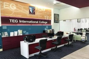 Cao đẳng quốc tế TEG, Singapore