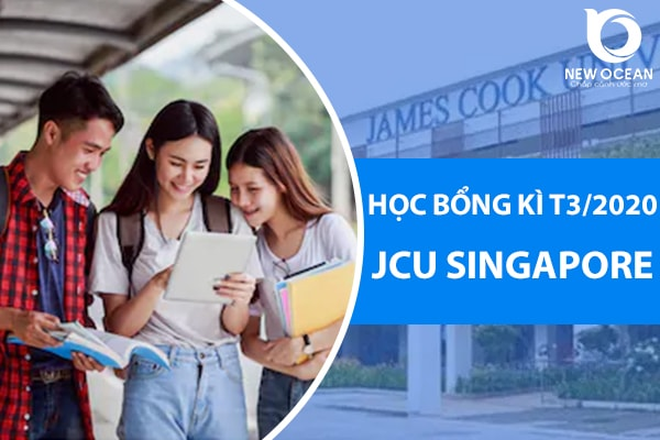 Học bổng James Cook Singapore