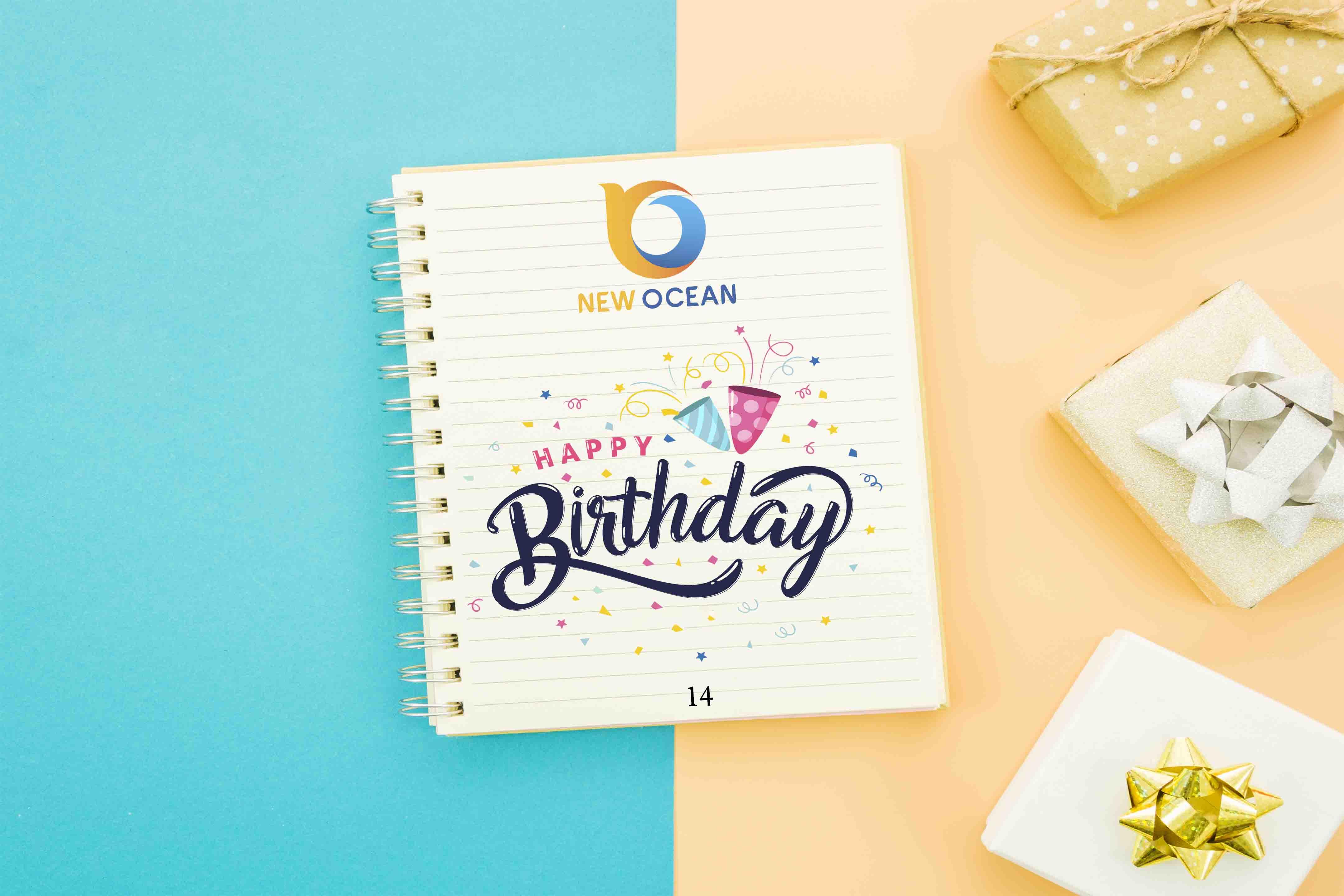 Chúc mừng New Ocean bước sang năm thứ 14