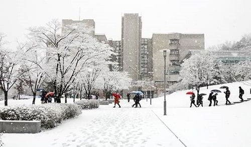 Hàn Quốc với thời tiết 4 mùa