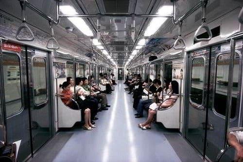 Tầu điện tại Busan Hàn Quốc