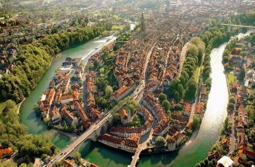 Thủ đô Bern của Thụy Sỹ