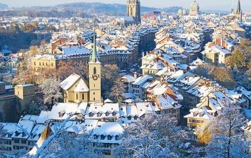 Thụy Sỹ top 10 đất nước bình yên nhất thế giới