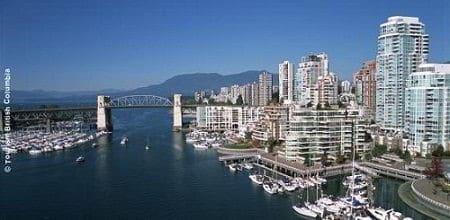 Tỉnh British Columbia Canada