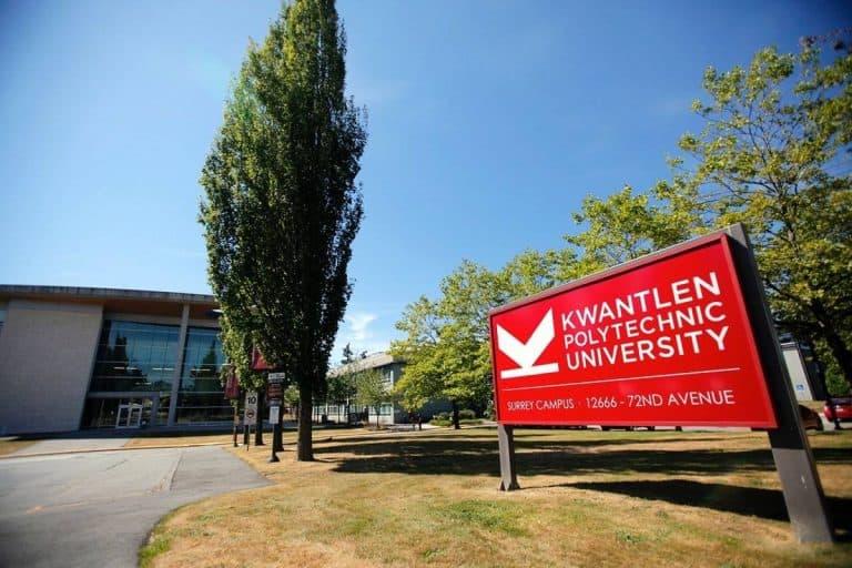 Thông tin trường Đại học Bách Khoa Kwantlen, Canada