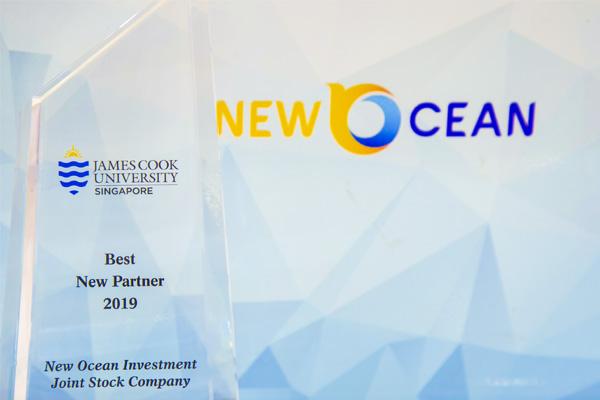 New Ocean được vinh danh là Đối tác mới tốt nhất năm 2019 của JCUS