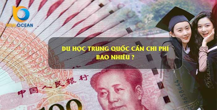 Chi phi du hoc Trung quoc